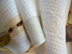 darčekové uteráky Napkin Rings, House, Shopping, Home Decor, Room Decor, Haus, Home Interior Design, Houses, Home