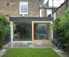 Dow Jones Architects — Hopefield Avenue — Image 9 of 14 - Europaconcorsi Building Extension, House Extension Design, Glass Extension, Extension Designs, Extension Ideas, Rear Extension, Victorian Terrace House, Edwardian House, Beautiful Architecture