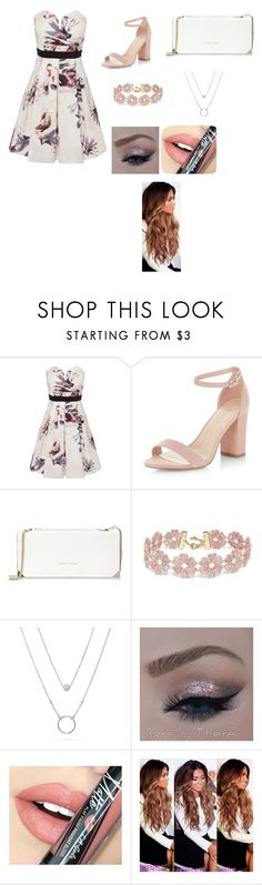 """La"" by laporshia ❤ liked on Polyvore featuring Little Mistress, New Look, Trina Turk, BaubleBar and Fiebiger"