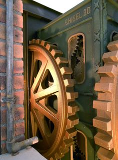 http://www.chisel3d.com/index.php/gallery2/themed-spaces #Steampunk #FoamGears