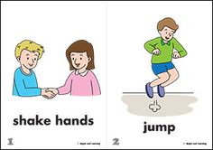 Let's Shake Hands Flashcards | Maple Leaf Learning Library
