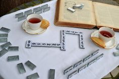 DIY: How to Make a Faux Mercury Glass Set of Dominoes