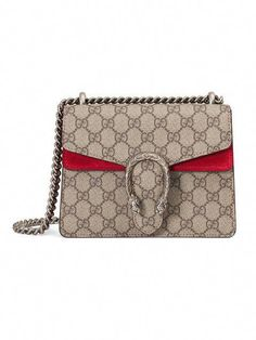faccb5ecf39 GUCCI Dionysus GG Supreme mini bag.  gucci  bags  shoulder bags  hand bags   canvas  suede    Guccihandbags