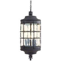 Minka Lavery Mallorca Spanish Iron Traditional Lantern Pendant Light at Lowe's. Mallorca collection by The Great Outdoors lighting piece is a well crafted series that will add to the ambiance of any home. It has twisted wrought iron Outdoor Ceiling Lights, Outdoor Hanging Lanterns, Outdoor Lighting, Porch Lighting, Exterior Lighting, Lantern Pendant Lighting, Light Pendant, Pendant Lamps, Wall Lantern