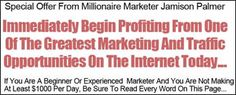 Immediately Begin Profiting From One Of The Greatest Marketing and Traffic Opportunities On The Internet Today.