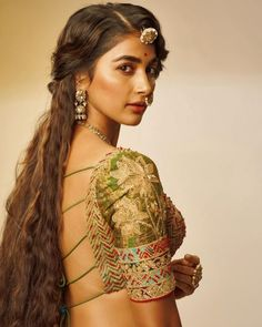 Pooja Hegde New Photos. Pooja Hedge has done her latest shoot in gorgeous dresses as a traditional statement. Pooja Hegde looks simply damn in the pics Bollywood Actress Hot Photos, Indian Bollywood Actress, Beautiful Bollywood Actress, Beautiful Actresses, Indian Actresses, Beautiful Heroine, Bollywood Girls, Tamil Actress, Beautiful Girl Indian
