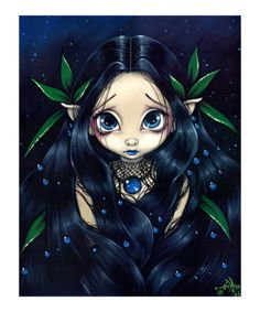 Gothic Fairy:  Lovely is the Night by Jasmine Becket-Griffith