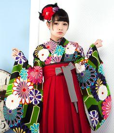 1722-S1のカワイイ袴セット