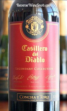 Manchester United Red Devils and Casillero Del Diablo - A Match Made in...