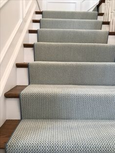 Carpet Runners For Stairs Uk Refferal: 6171102889 Staircase Remodel, Staircase Makeover, Foyers, Edwardian Staircase, Stairway Carpet, Staircase Runner, Stair Runners, Carpet Runners For Stairs, Stair Railing