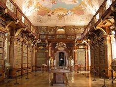 8-Melk-Abbey-Library-Melk-Austria