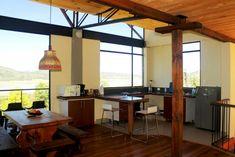 Cocina casa de campo My House, Gazebo, House Plans, Villa, Outdoor Structures, Patio, Ceiling Lights, Outdoor Decor, Table