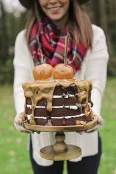 Cake from a Fall Fri