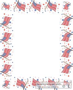 Red White and Blue Borders | blue-border-clipart-red-white-and ...