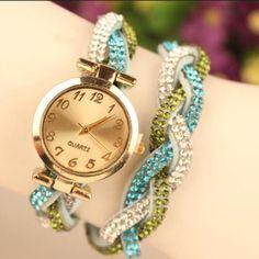 Korean Style Crystal Fashion Watch