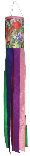 Toland Home Garden 168171 Master Gardener Windsock, 6 by 42 by Toland Home Garden. $12.80. Weather and fade Resistant. Windsock is fully hemmed; high-quality durable polyester UV resistant fabric; windsock includes snap hook and swivel. Master gardener windsock. Beautifully detailed print designs and embroidery with matching fabric and streamers. Licensed Art; 6-inches by 42-inches. Master Gardener Windsock 6 by 42