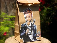 Geeky Lunch Bag Art From An Awesome Dad