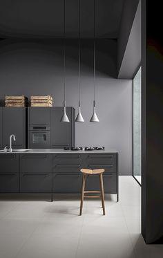 32 Chic Kitchen Lighting Ideas for Your New Kitchen Industrial Style Kitchen, Modern Kitchen Design, Interior Design Kitchen, Modern Interior Design, Industrial Lamps, Modern Interiors, Modern Industrial, Küchen Design, Home Design