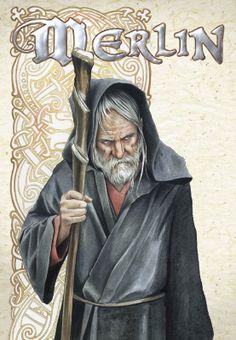 ' Merlin le druide '