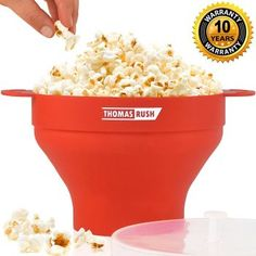 Cheap silicone popcorn popper, Buy Quality bowl maker directly from China microwave silicone Suppliers: FINDKING high quality Air Popcorn DlY Collapsible Silicone Microwave Hot Popper Bowl folding Silicone Popcorn maker Microwave Popcorn Bowl, Best Popcorn Maker, Hot Air Popcorn Popper, Popcorn Bucket, Popcorn Recipes, Snack Box, Baking And Pastry, Healthy Choices, Snacks