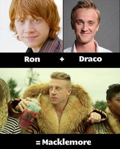 Ron + Draco =