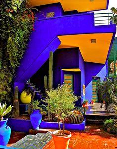 YSL home - Marrakech  .....   MORROCO