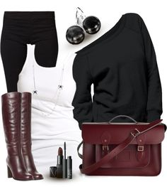"""Black, White & One Color I"" by wishlist123 on Polyvore."