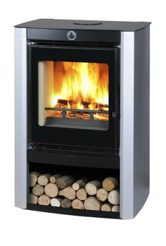 Saba - Dynamic and Sleek wood stove by Wittus - Fire by Design on ...
