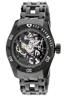 Price:$179.99 #watches Invicta 1264, This dauntless Invicta mechanical makes a bold statement with its intricate detail and design, personifying a gallant structure.