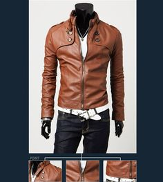 Laconic and Mix-Matched Button Embellished Slim Pelisse For Male (BROWN,M) China Wholesale - Sammydress.com