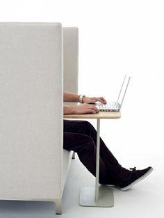 """Laptop-Tisch """"Utensils"""" von Arco via Schoener Wohnen"""