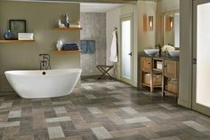The Wonderful Luxury Vinyl Flooring Click Vinyl Plank Flooring Luxury Vinyl Tile From Armstrong Flooring is one of the pictures that are related to the pic Luxury Vinyl Tile Flooring, Vinyl Tiles, Vinyl Plank Flooring, Luxury Vinyl Plank, Bathroom Flooring, Rubber Flooring, Kitchen Floors, Armstrong Vinyl Flooring, Flooring Store