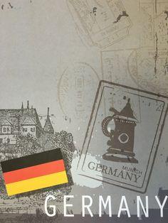 Germany Scrapbook Paper