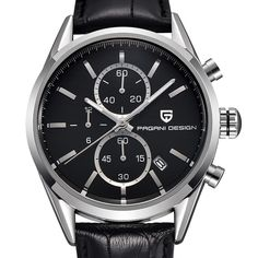 (59.80$)  Buy here - http://ai15a.worlditems.win/all/product.php?id=32800411715 - 2017 Pagani Design Reloj Hombre quartz watch leather and stainless steel watches men brand luxury sport watch relogio masculino