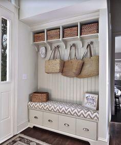 Storage Bench idea - entrance