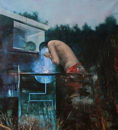 "Saatchi Art Artist Lorella Paleni; Painting, ""Sleepwalkers 2"" #art"