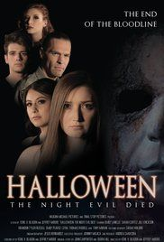Halloween: The Night Evil Died Poster