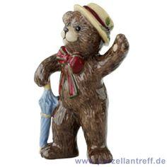 Villeroy & Boch Christmas Teddies Anhänger 'Teddy m. Hut' 10,5 cm