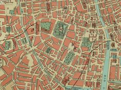 Best Old Maps Of Dublin Images On Pinterest City Maps Dublin - Old maps of dublin