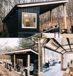 Would you want to stay in this Airbnb? Amazing shipping container home by Go check it out! Shipping Container Cabin, Shipping Container Home Designs, Container House Design, Tiny House Design, Cargo Container, Shipping Containers, Storage Container Homes, Container Gardening, Container Shop