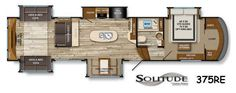 New 2016 Grand Design Solitude 375RE Fifth Wheel at Tom Schaeffer's RV Superstore | Shoemakersville, PA | #10784