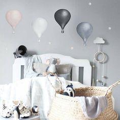 De fine wallstickersene fra Stickstay kommer til oss i løpet av høsten #miniverden #wallsticker #stickstay #veggdekor #barneinteriør #barnerom #barneinspo #kidsinspo #kidsroom #nursery #bedroom #interior123 #barsel #morogbarn Balloon Wall, Balloons, Kids Bedroom, Kids Rooms, Baby Shop, Room Inspiration, Toddler Bed, Nursery, Instagram Posts