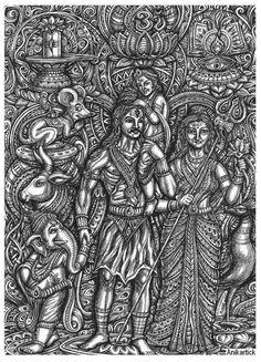 This site presents a complete painting wallpaper images, presented to you seekers of information about wallpapers and painting images. Shiva Art, Shiva Shakti, Hindu Art, Bhagwan Shiv, Lord Mahadev, Lord Shiva, Ganesha, Indian Art, Mythology