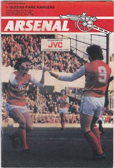 Vintage Football (soccer) Programme - Arsenal v Queens Park Rangers, 1983/84 season #football #soccer #arsenal #queensparkrangers #qpr #1980s