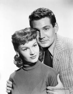 The War of the Worlds - Promo shot of Gene Barry & Ann Robinson