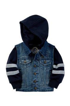 100 Woven Cotton Denim Jacket (Baby Boys)