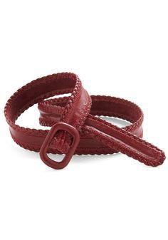 Vintage Red Up Belt