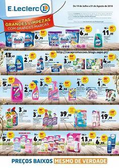 Promoções E Leclerc - Novo Folheto EXTRA 19 julho a 1 agosto - http://parapoupar.com/promocoes-e-leclerc-novo-folheto-extra-19-julho-a-1-agosto/
