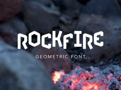 Rockfire Free Font Free Fonts Graphic Design Free Resource Typeface Typography Geometric OTF Sans Serif