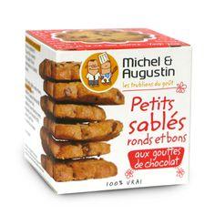 Michel et Augustin, marketing et emballage déjantés